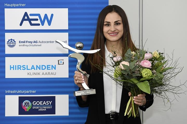 Elena Quirici ist Aargauer Sportlerin des Jahres