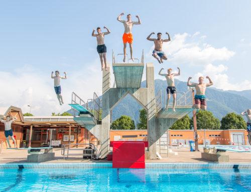 Die Anmeldung für das Jugendsportcamp in Tenero ist geöffnet