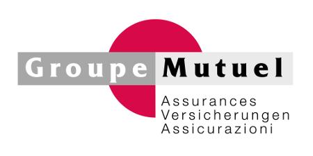 Logo der Firma Groupe Mutuel