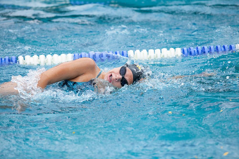 Paraschwimmerin Nora Meister im Einsatz