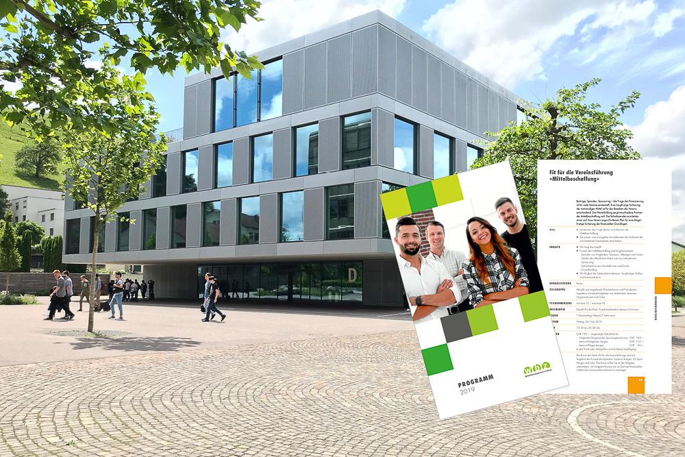 Aussenaufnahme des Berufsweiterbildungszentrum Lenzburg