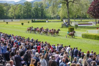 Pferderennen in Aarau