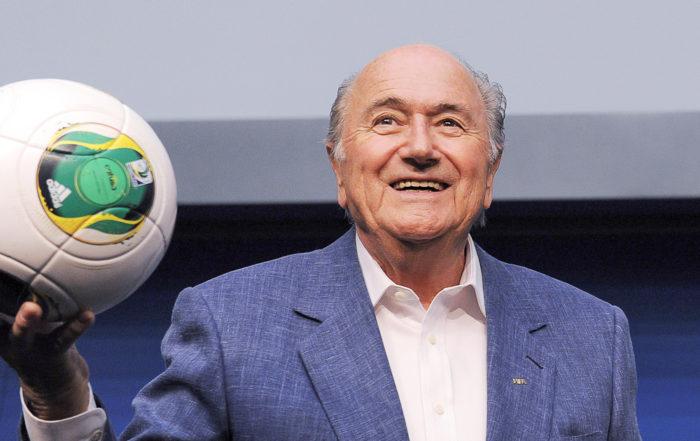 Portraitbild des ehemaligen FIFA-Präsidenten Sepp Blatter