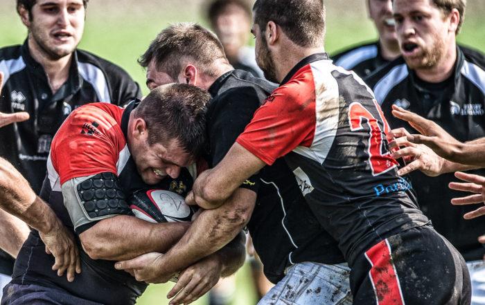 Das Rugby-Team aus Würenlos in Aktion