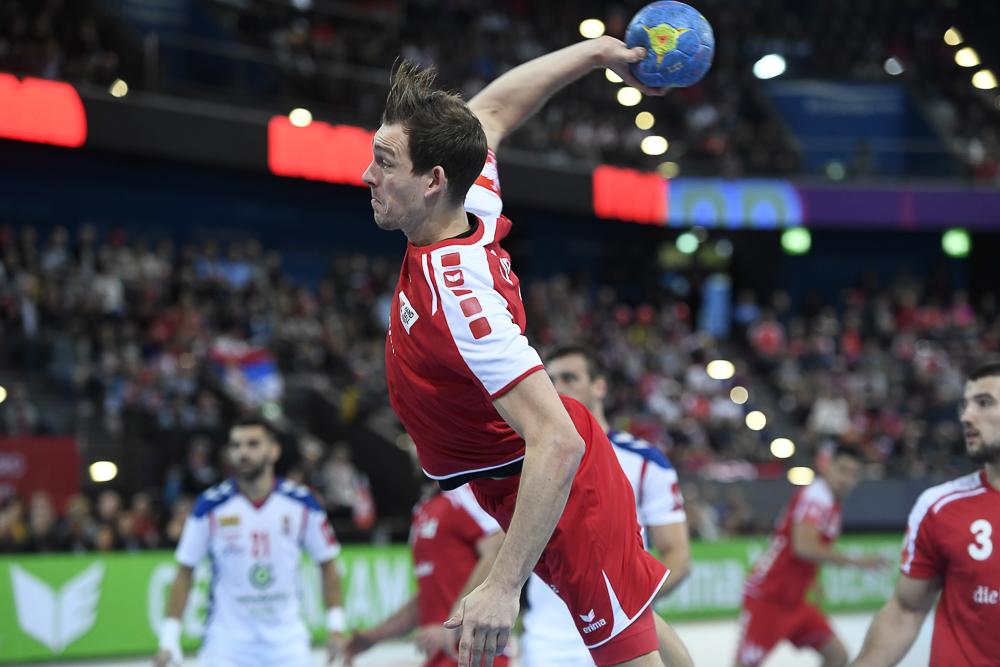 Handballer Marvin Lier im Einsatz