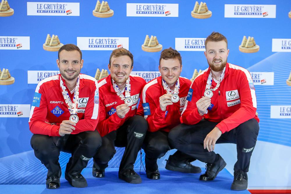 EM Silber für die Schweizer Curler