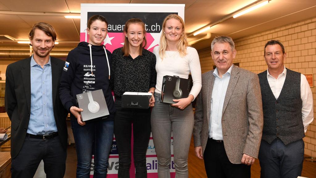 Die Gewinner des «NewComer»-Awards des Kantons Aargau