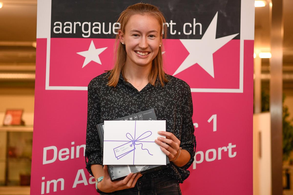 Eline Gemperle wird als Newcomerin des Jahres ausgezeichnet