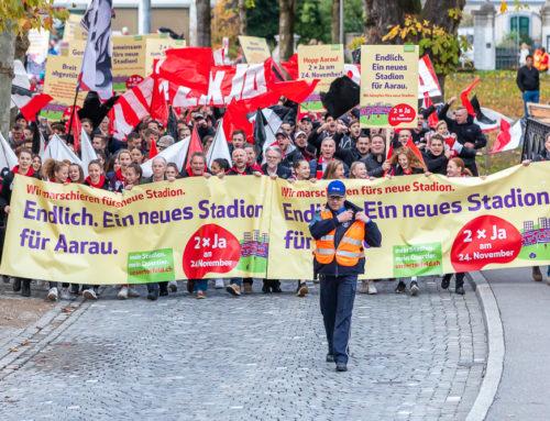 «Ein Nein zum Stadion wäre ein Armutszeugnis für den Sportkanton Aargau»