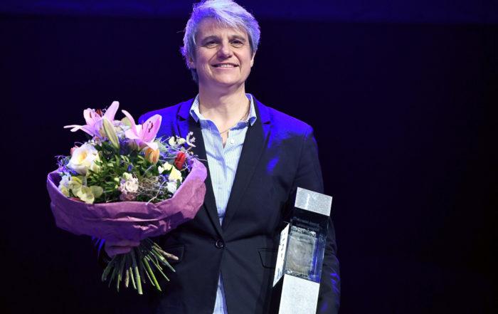 Kanutin Sabine Eichenberger wird mit dem Special Award ausgezeichnet