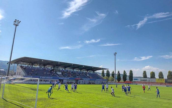 Stadion Niedermatten des FC Wohlen