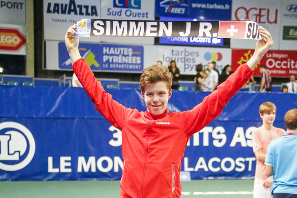 Tennisspieler Janis Simmen wird U14-Vize-Weltmeister