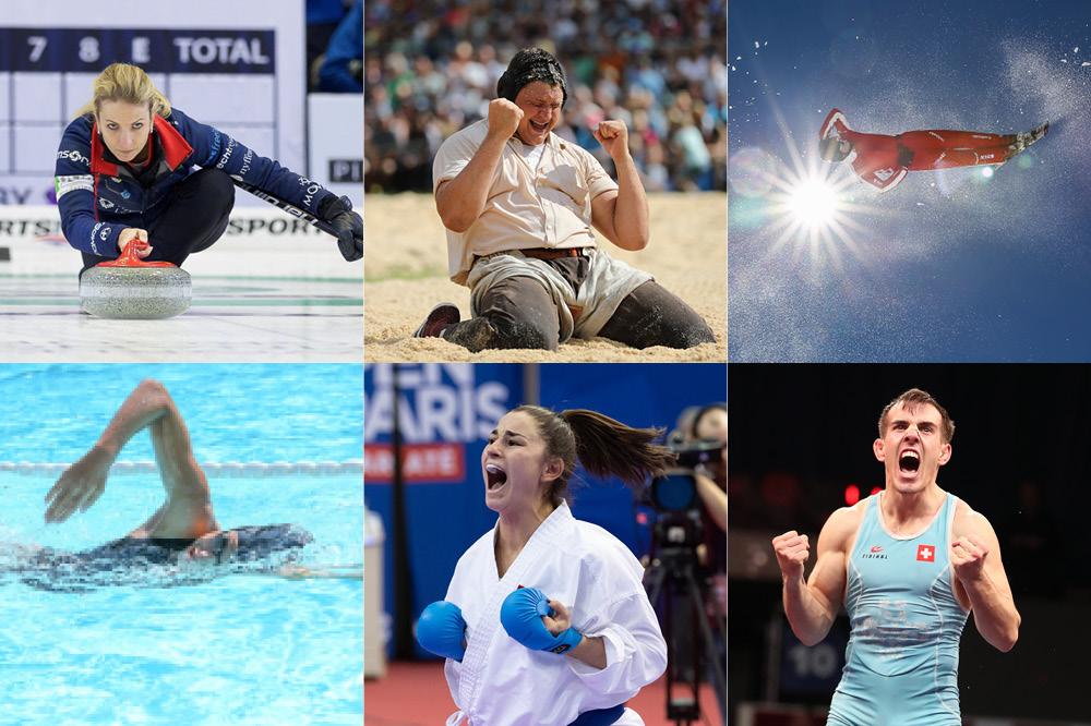 Die sechs Kandidaten für die Wahl zum Aargauer Sportler des Jahres 2019