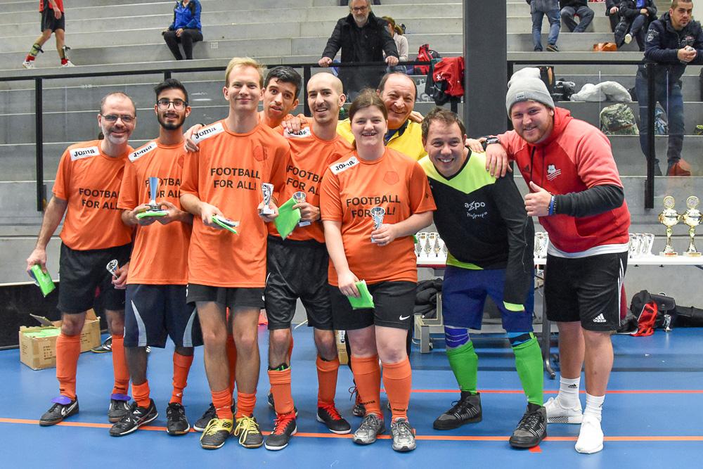 Luigi Ponte und sein Team «Ponte Kickers»