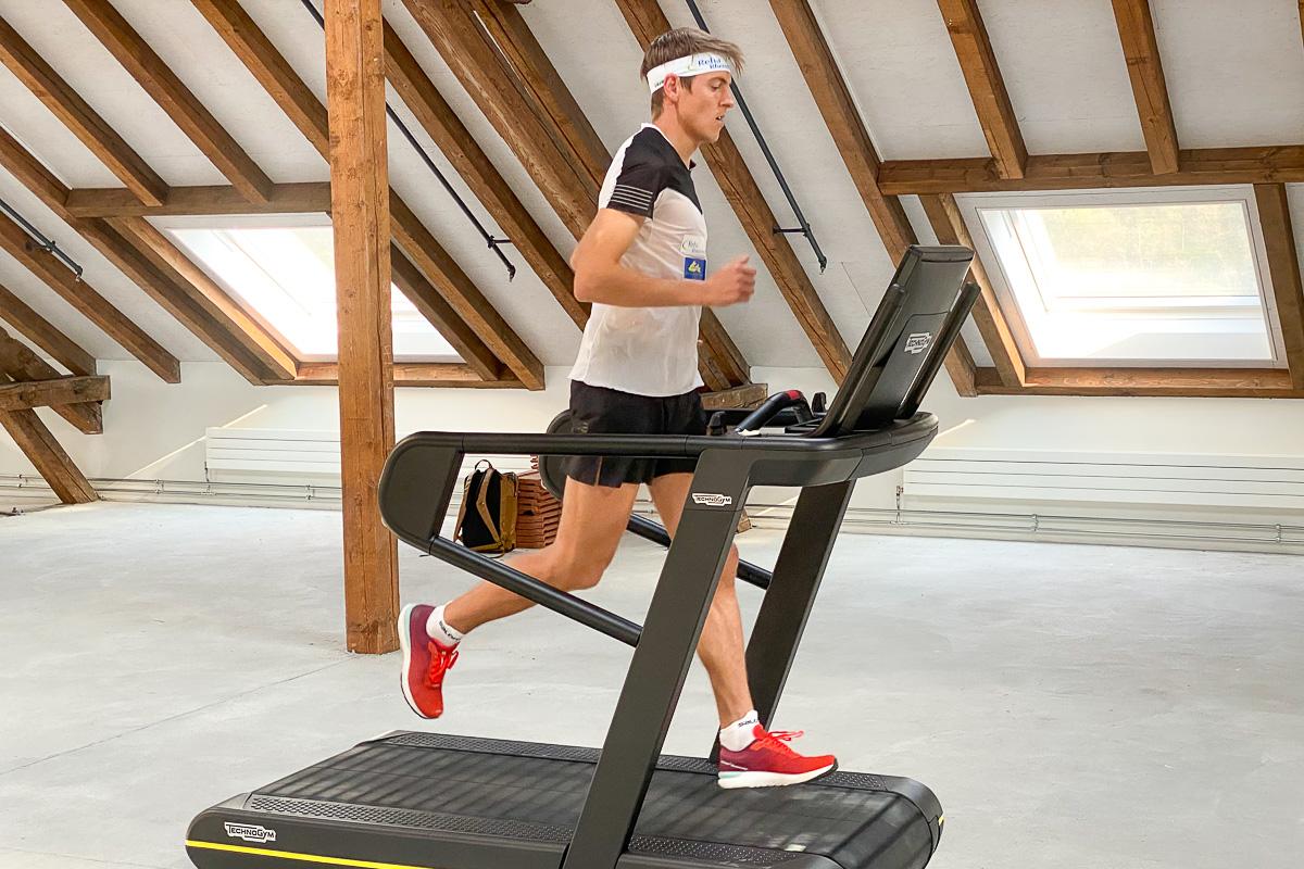 Matthias Kyburz mit Weltrekordversuch