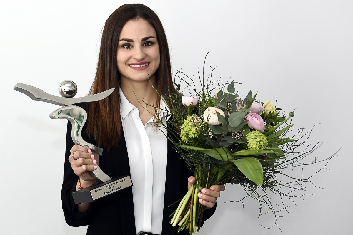 Elena Quirici ist Aargauer Sportler des Jahres.