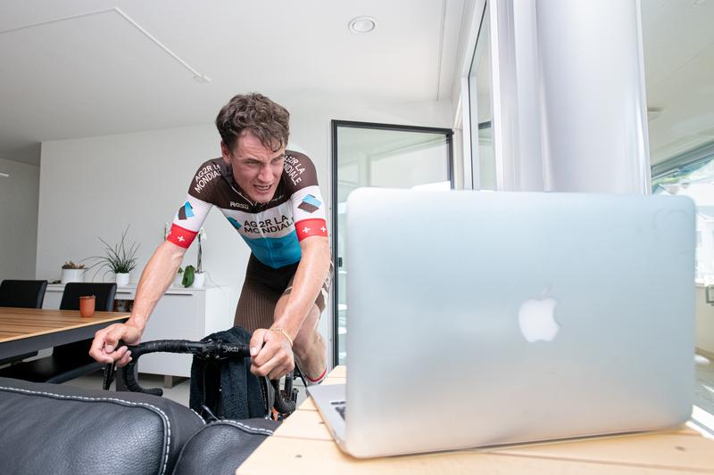 Silvan Dillier im Einsatz am Digital Swiss 5