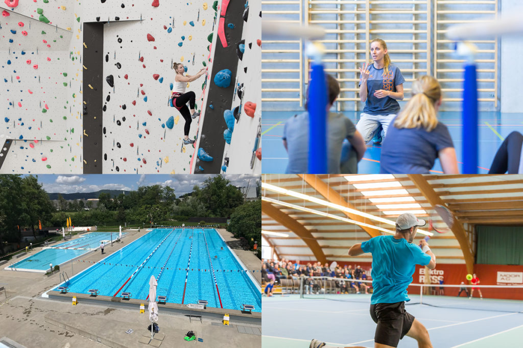 Sportanlagen im Aargau