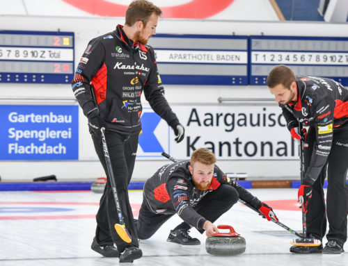 Trotz Corona: Die Curling Weltelite trifft sich in Baden