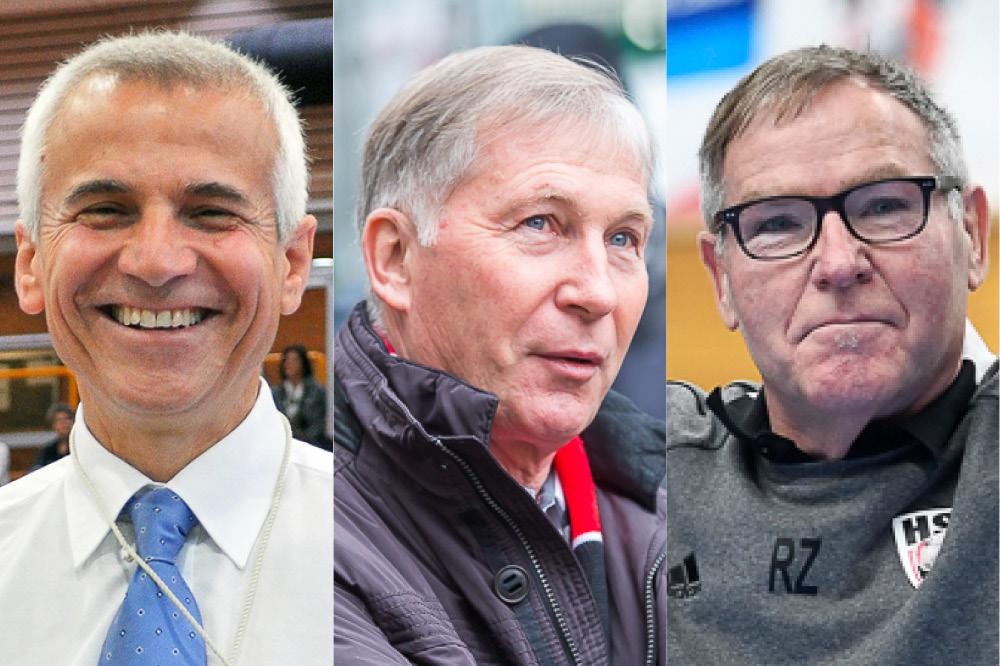 Die drei Kandidaten des Special Award – Tommaso Mini, Alfred Schmid und René Zehnder
